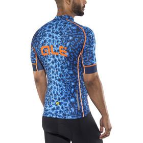 Alé Cycling Graphics PRR Agguato Fietsshirt korte mouwen Heren blauw/zwart